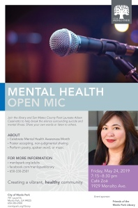 20190524 - mental health open mic