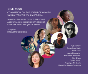 Copy of RISE 2020 COMMISSION ON THE STATUS OF WOMEN SAN MATEO COUNTY